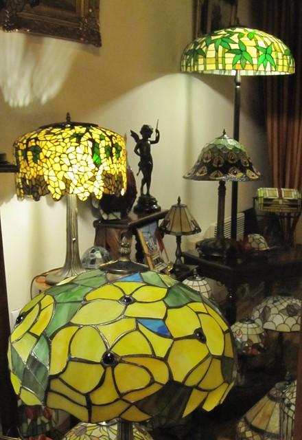 Kauniit vanhat lamput