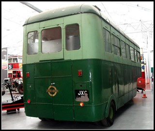 London transport 702B (JXC 2) Bedford Scammell staff canteen.