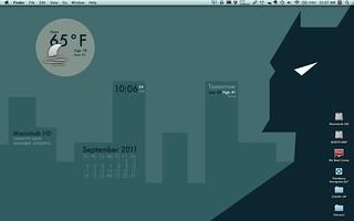 Batman Stylized Desktop