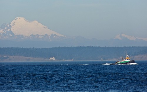 ocean mountains boat pugetsound mtbaker mtshuksan cascaderange