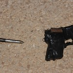 Improvised Firearm Discovered on Palestinians at the Beqa
