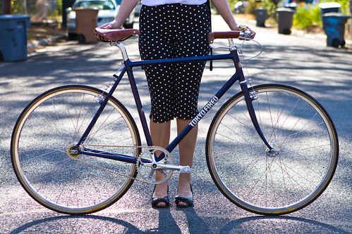 Beautiful Bicycle: Lauren and Her Tokyo Fixed Dream Machine Cargo