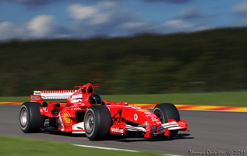 Ferrari F2005 at Spa-Francorchamps