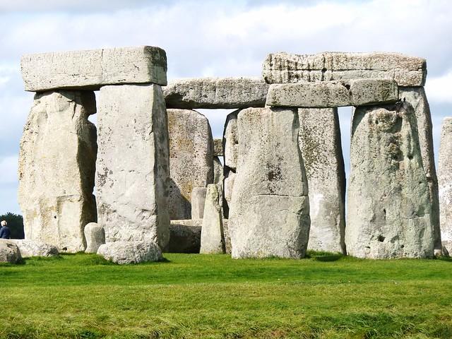 Stonehenge Prehistoric Site, Salisbury Plain, England