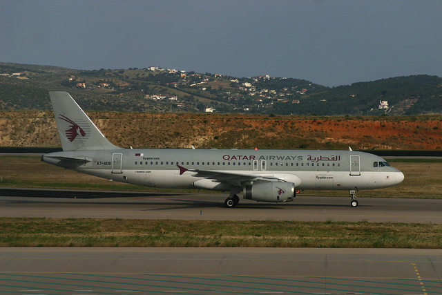 Qatar Airways Airbus A320 A7-ADB
