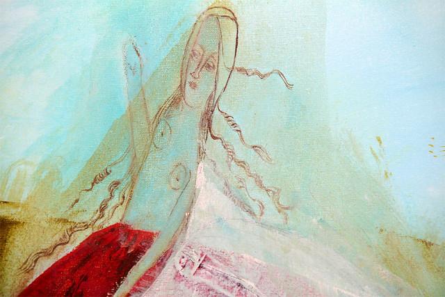 Campos, valles y prados, detail girl