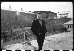 Johnny Cash at Folsom Prison, 1968, by Jim Marshall