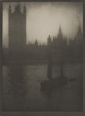 Houses of Parliament, London, 1909, by Alvin Langdon Coburn
