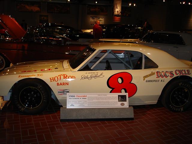 1966 Chevrolet Dale Earnhardt Sr 8 Tribute Stock Car