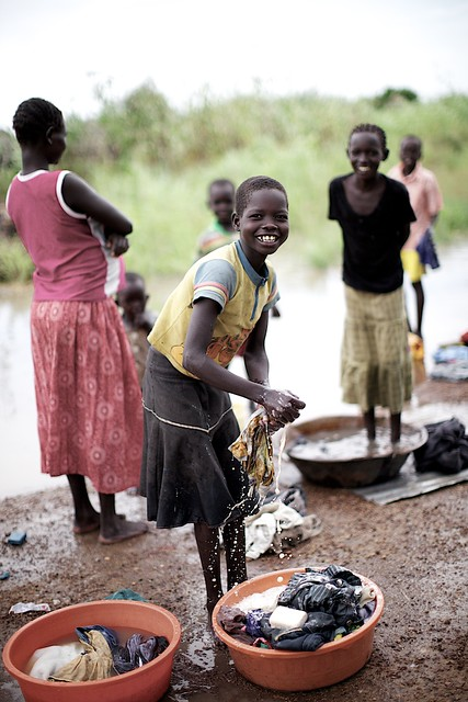 Girls girls washing clothes on the side of the road in tor flickr photo sharing - Wrong wash clothesdegrees ...