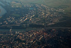 Bratislava from the air