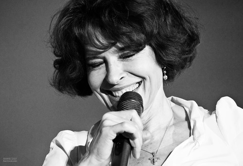Fanny Ardant by Anne Lily