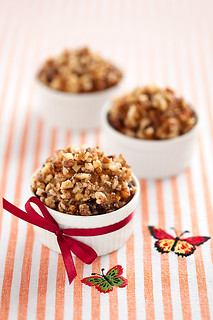 Cranberries and Walnuts Vegan Cakes