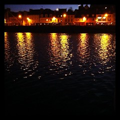 Camaret by night, summer breeze in the air :)