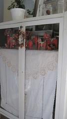 vintage linens and horses