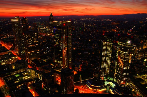 Skyline Frankfurt @ Sundown