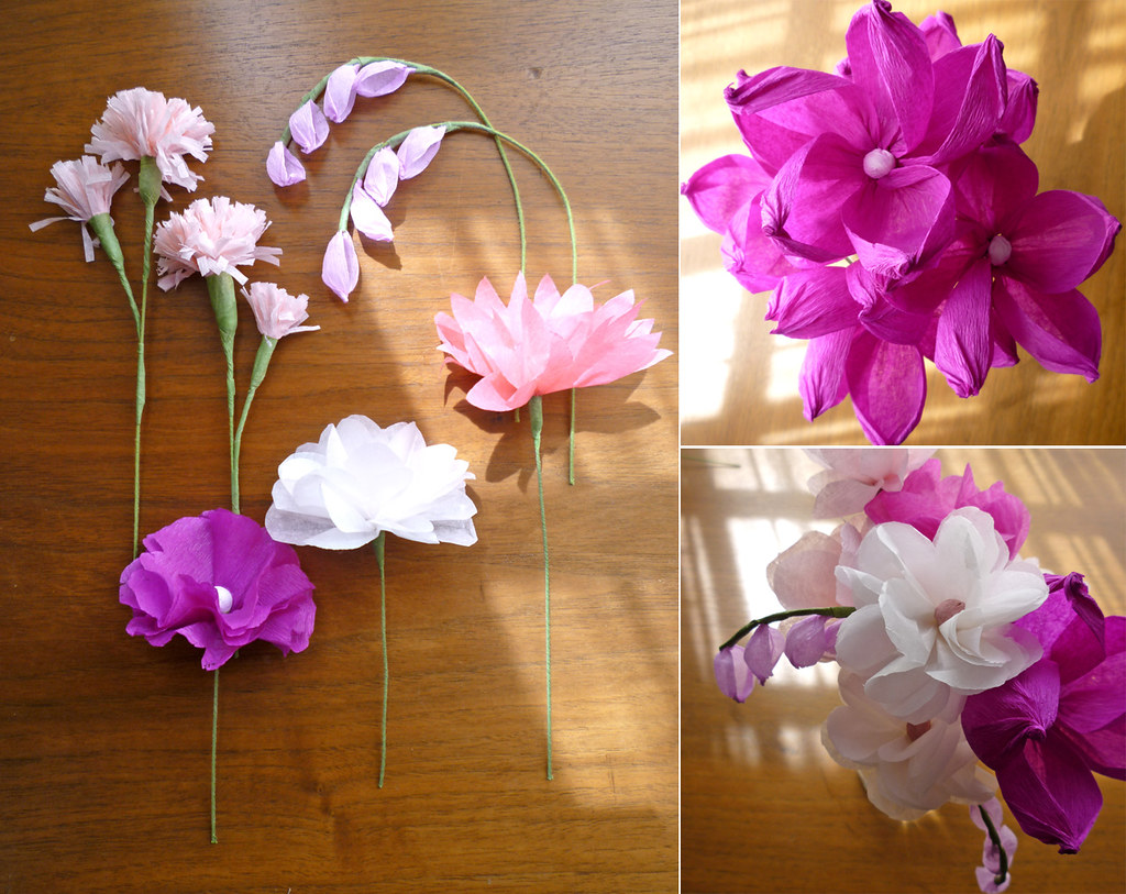 Tissue paper flowers craft tissue paper flowers craft tissue paper wedding flowers craft mightylinksfo Gallery