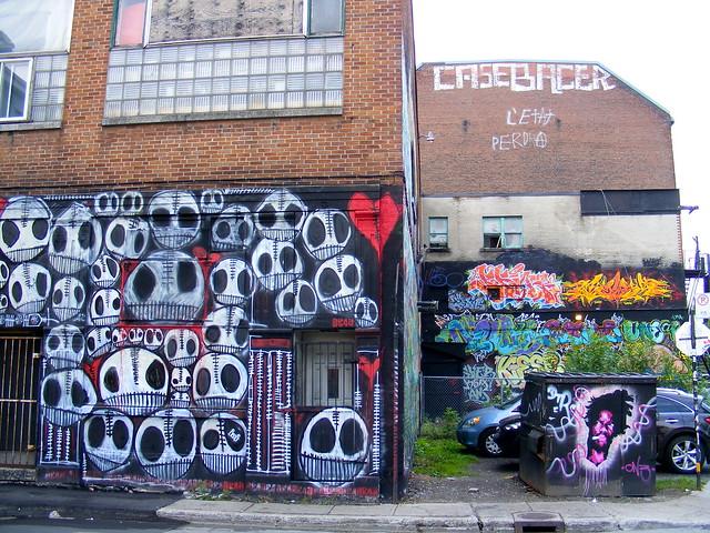 Montreal Street Names Montreal's Street Art
