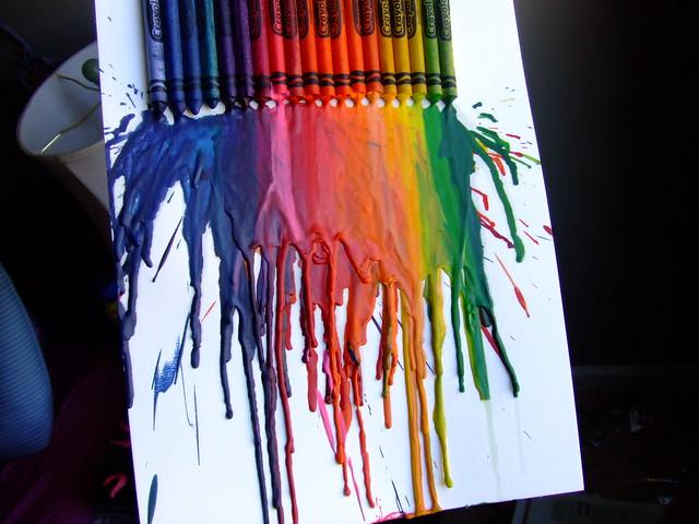 melted crayon, Fujifilm FinePix Z5fd