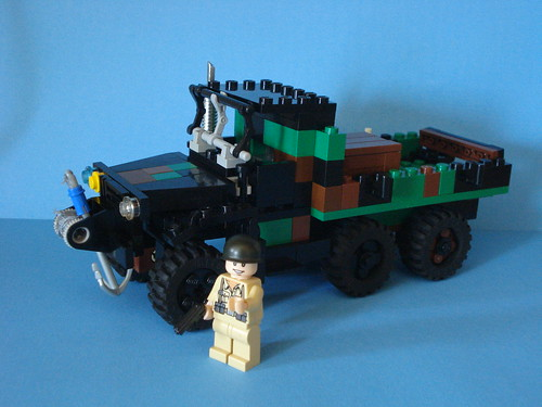 Lego WWII Deuce and a half