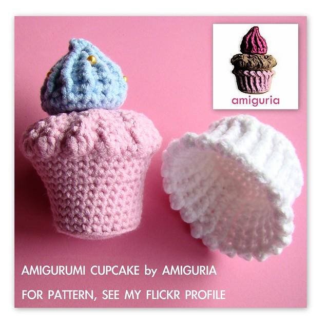 Amigurumi Cupcake Pattern by Amiguria Flickr - Photo ...