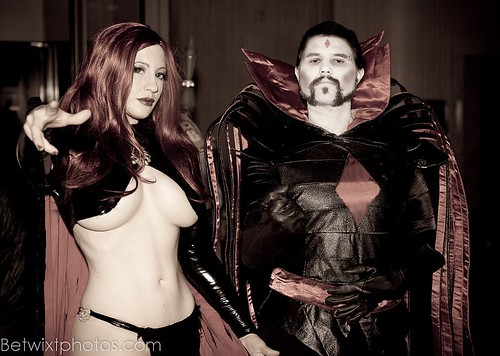 Goblin Queen and Mister Sinister