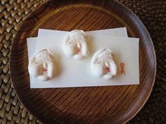 Japanese cuisine, Wagashi, Higashi: 和菓子、おたふく