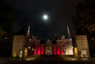 Image of Kasteel van Helmond. night nacht avond brabant kasteel helmond