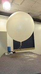 McMurdo Station Weather Balloon Launch