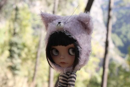 I'm not a cat. I'm a Linx. A pink linx by Vainilladolly, moving next door, so a bit MIA
