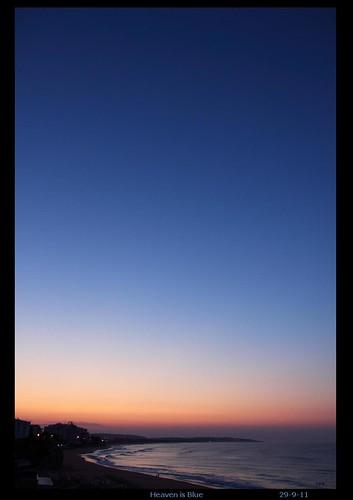portugal sunrise dawn horizon algarve armacaodepera 29911 bluebeach jonperry enlightenshade 20110929
