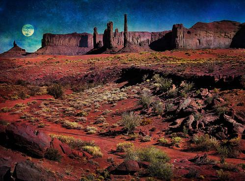 arizona moon monument rocks desert redrock monumentvalley mountaiins
