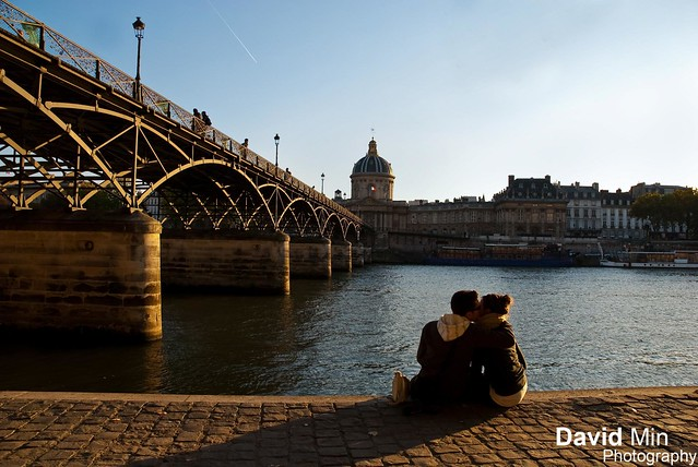 Paris, France - Love In The Air @Ponts des Arts