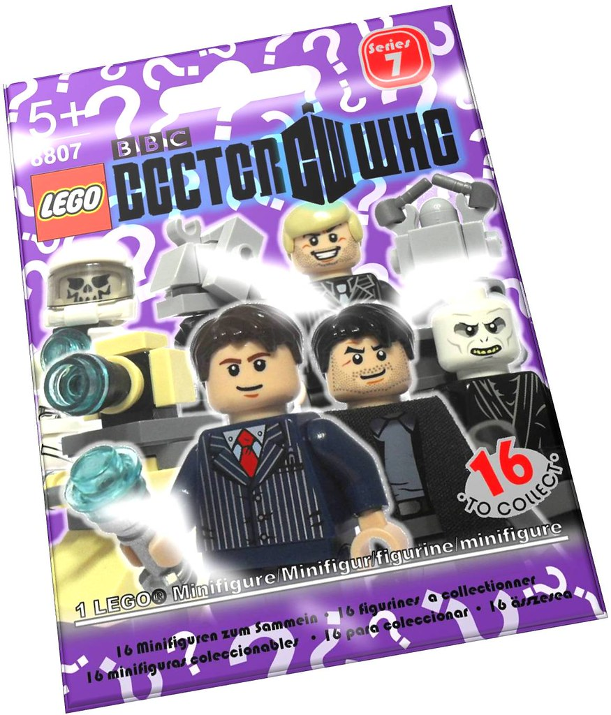 LEGO 8807 CMF Series 7 Doctor Who