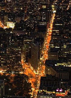 New York City -  Flatiron District and 5th Av.