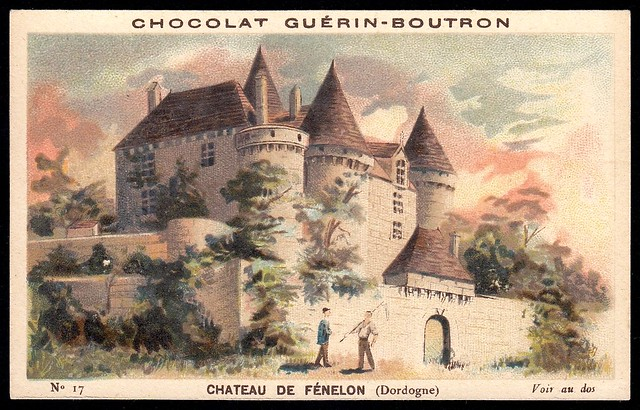French Tradecard - Chateau de Fenelon