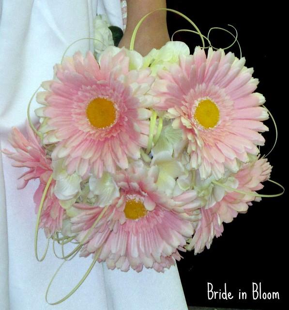 Bridal Bouquet Of Gerbera Daisies : Photo