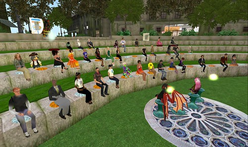 NPC 4th anniversary crowd