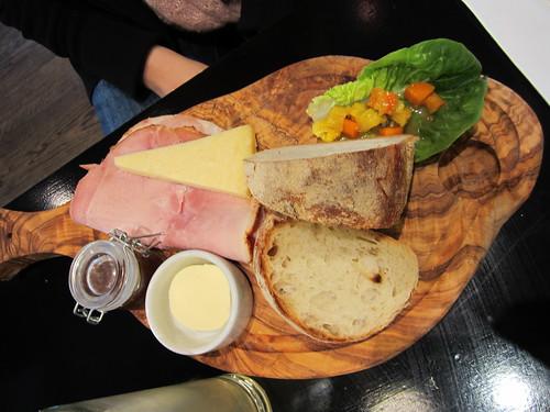 Ploughman's platter At the Tate Modern