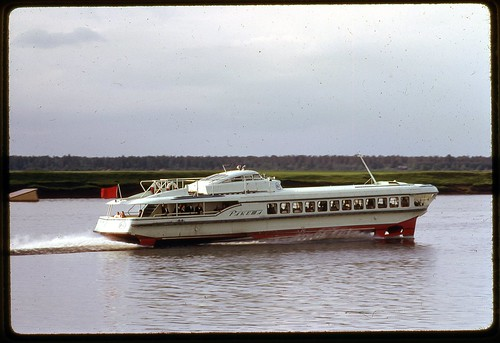 Speed Tour Boat, Near Moscow, 1969