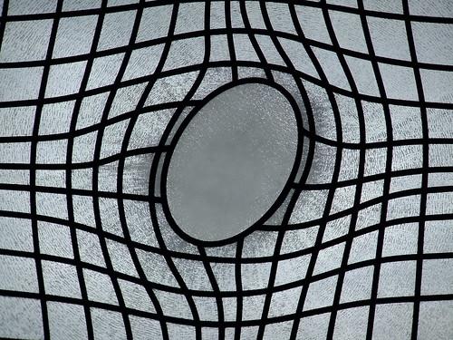 Fancy stained-glass window
