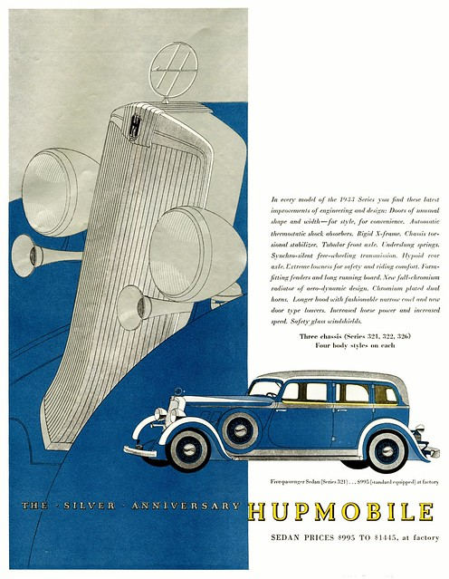 The Silver Anniversary Hupmobile