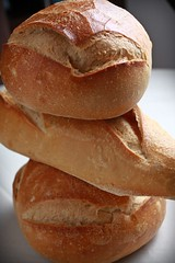 bread, baked goods, ciabatta, food, bread roll, cuisine, baguette,