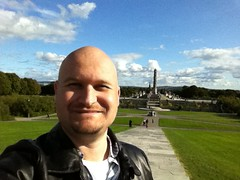 A Most Gorgeous Day at Vigeland Park in Oslo, Norway
