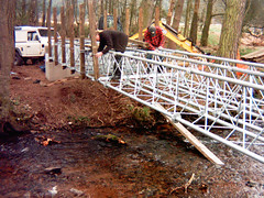 Deeside Way Aerial Mast Bridge