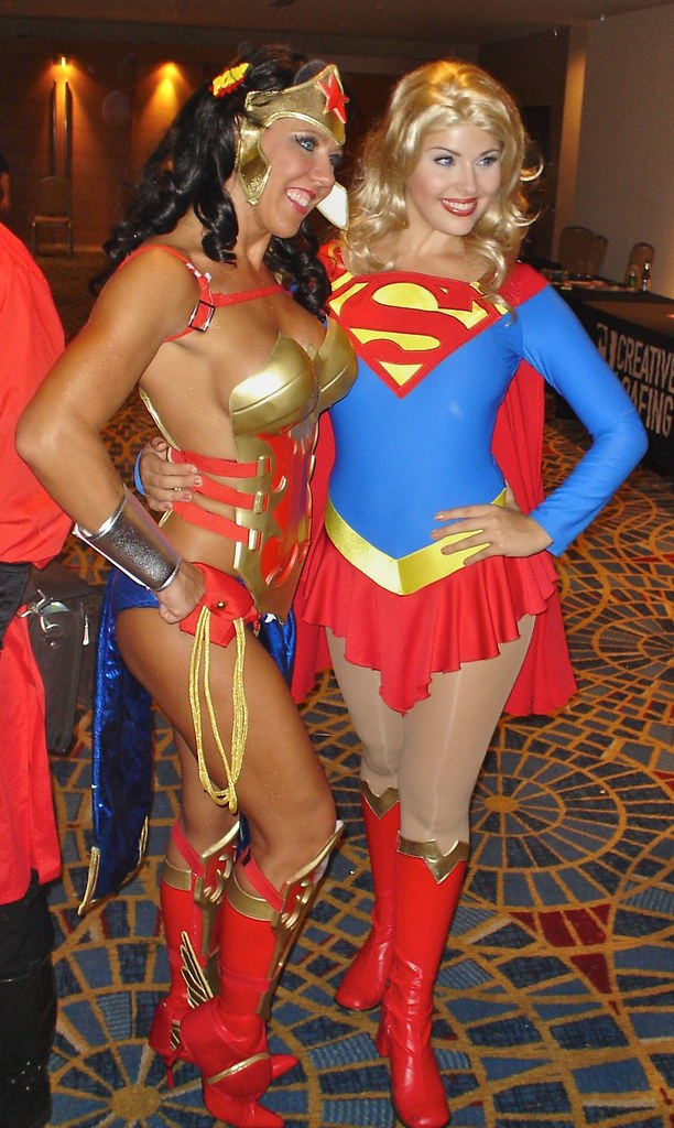Anime Wonder Woman  Supergirl  Ahhhh, So Much Sexy In -2483