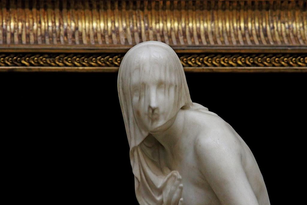 Вуали в скульптуре