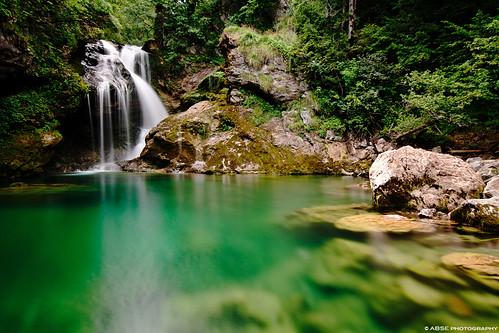 Vintgar Gorges' Waterfall