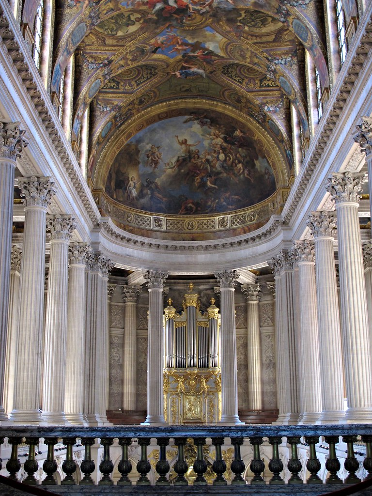 The Upper Gallery, Royal Chapel, Versailles.