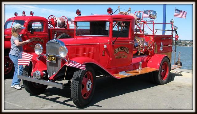 Fire Truck Wall Decor